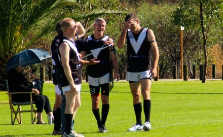 Round 1 2015 : Masters V Central Crocs