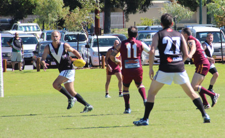 Round 2 2015: Wembley Vets Home Game
